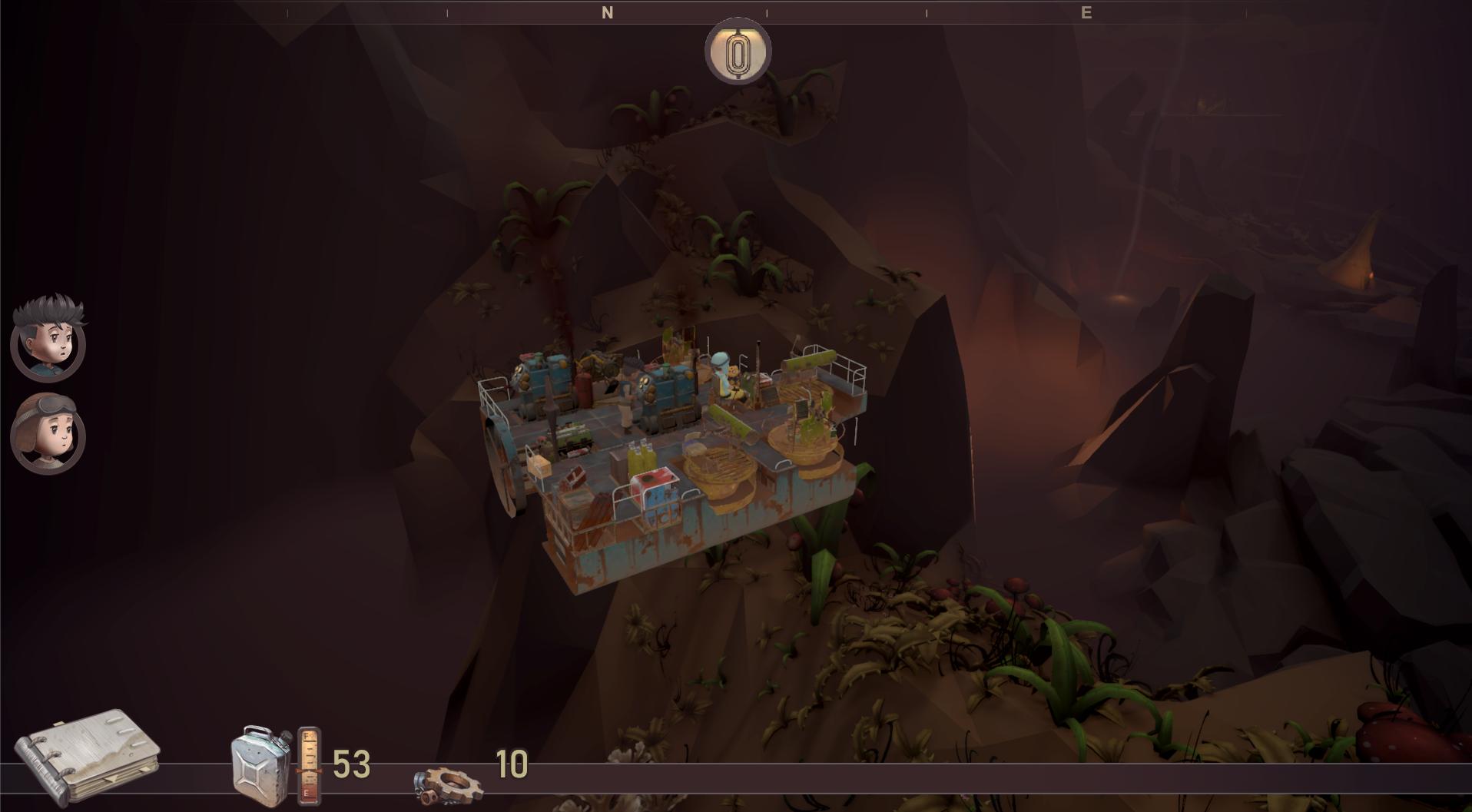 Bravers game screenshot